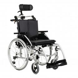 Wózek inwalidzki specjalny stabilizujący głowę i plecy Premium