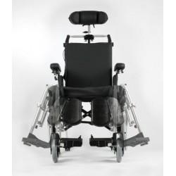 Wózek inwalidzki komfortowy stabilizujący plecy i głowę